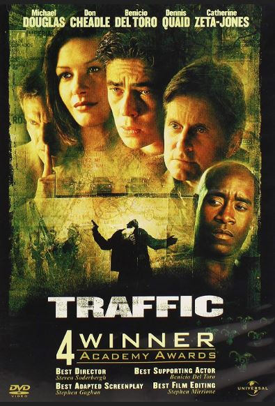 Movie poster for Traffic
